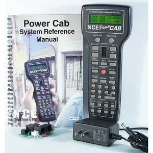 NCE Power Cab Complete DCC Starter System With Power Supply & Panel