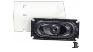 TCS ATL-SH1 Kit ~ 35mm x 16mm Speaker & Enclosure ~ Atlas RS WOWSpeaker ~1714