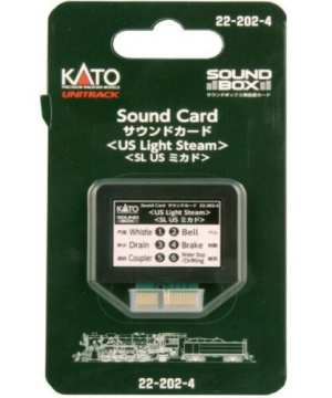 Kato US Light Steam Soundcard for Sound Box 22-202-4