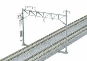 Kato N Scale UniTrack Double Track Straight Catenary Poles (10pcs) 23-061
