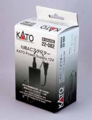 Kato AC Adapter Power Supply For Power Pack Standard SX or Smart Controller ~ N Scale 22-082