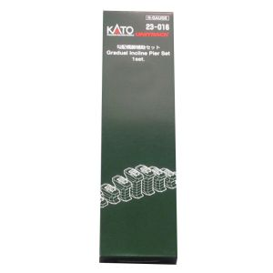 Kato N Scale UniTrack Train Track Ad-On Gradual Pier Set 7/16 to 1-5/8in High 23016