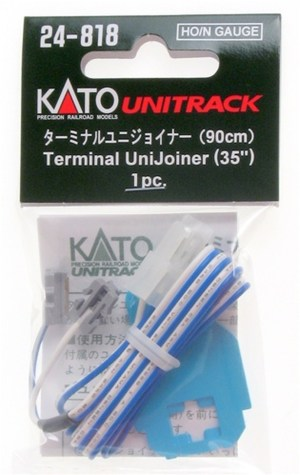 Kato HO / N Scale UniTrack Terminal UniJoiner (1 pc) 24-818