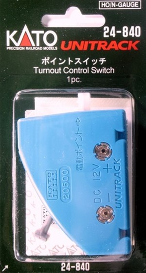 Kato HO / N Scale UniTrack Turnout Control Switch (1 pc) 24-840