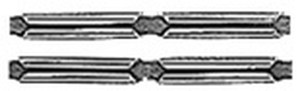 Atlas HO Universal Rail Joiners Nickel Silver (6 Packs)