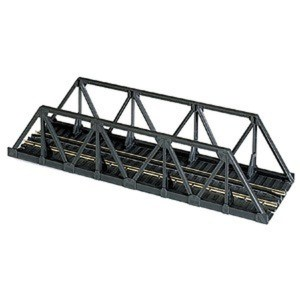 Atlas N Scale Code 80 Warren Truss Bridge 5″ Black 2546