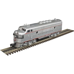Atlas O Scale 3 Rail Burlington CB&Q TMCC F3A Phase 2 Locomotive #9962C 1640-4