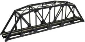 Atlas N Scale Code 55 Track Through Truss Bridge Kit – Black 2070