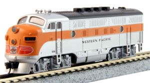 Kato N Scale F3A F3 Western Pacific #803 DCC Ready 176-1203