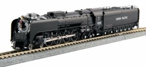 Kato N Scale Union Pacific Black 4-8-4 FEF-3 #838 DCC Ready ~ 126-0402