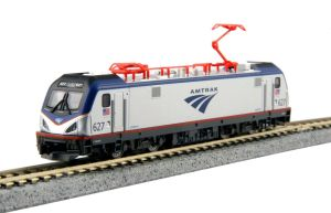 Kato N Scale ACS-64 Amtrak 627 Electric SIEMENS CITY SPRINTER 137-3002