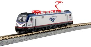 Kato N Scale ACS-64 Amtrak 648 Electric SIEMENS CITY SPRINTER 137-3003