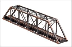 Central Valley Model Works N Scale 150′ Pratt Truss Bridge Kit 1810
