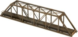 Central Valley Model Works N Scale 150′ Modern High Portals Truss Bridge Kit 1815