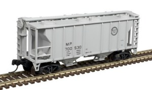 Atlas N Scale Trainman PS-2 Covered Hopper Missouri Pacific #700515 50004188