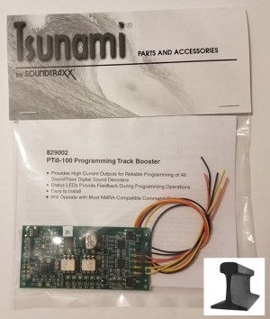 Soundtraxx PTB-100 DCC Programming Track Booster With LEDs 829002
