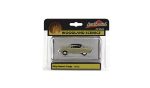 Woodland Scenics HO Billy Brown's Coupe AS5522