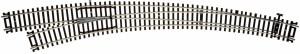 Atlas HO Code 83 Customline Left Curved Switch Mark IV Turnout 22″ & 30″ 595