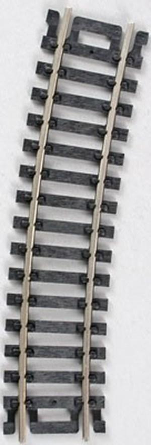 Atlas HO Code 100 18″ Radius 1/2 Curve Track (4 pc) 834
