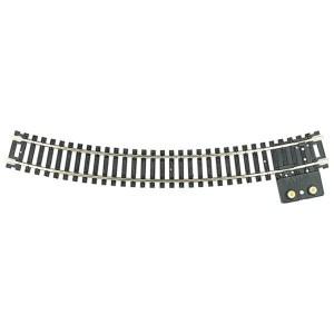 Atlas HO Code 100 18″ Radius Curve Terminal Snap Track (1 pc) 845