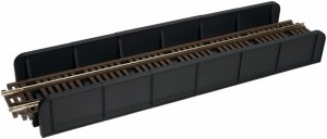 Atlas HO Code 100 Through Plate Girder Bridge Kit Single Track 880