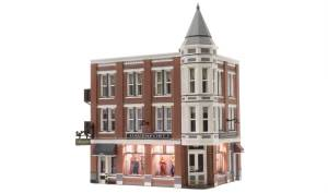 Woodland Scenics HO Built and Ready Davenport Department Store BR5039