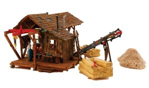 Woodland Scenics HO Built and Ready Buzz's Sawmill BR5044
