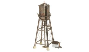 Woodland Scenics HO Built and Ready Rustic Water Tower BR5064