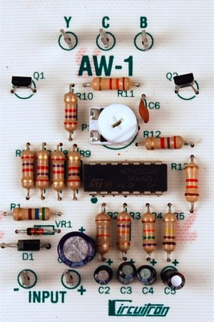 Circuitron AW-1 Arc Welder Circuit ~ 5841