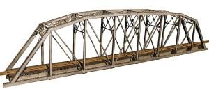 Central Valley Model Works HO 200 foot 1 Track Parker Truss Bridge Kit 1901