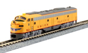 Kato N Scale Union Pacific E9A UP #962 City Of Los Angeles 176-5318