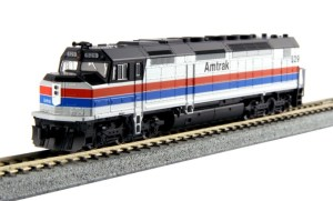 Kato N Scale Amtrak SDP40F #529 Type I 76-9203