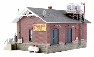 Woodland Scenics HO Built and Ready Chip's Ice House BR5028