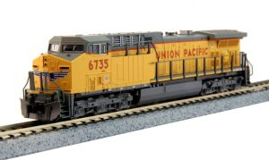 Kato N Scale Union Pacific GE AC4400CW UP #6735 176-7038
