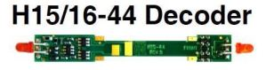 NCE H15/16-44 Plug and play decoder for N-Scale Atlas H15-44 and H16-44 5240159