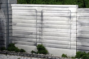 Monroe Models N Scale Retaining Walls Concrete (2 pcs) 207