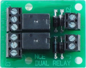NCE Dual Relay Board For Isolated Output Of Switch8 Or Switch-It 5240236