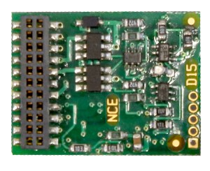 NCE D16MTC 21 Pin decoder – fits most new Athearn Locos 5240156