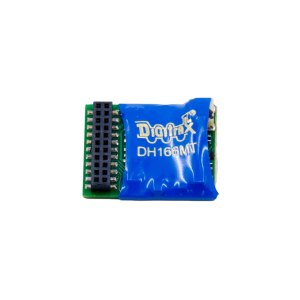 Digitrax DH166MT 21 Pin MTC DCC Motor Decoder ~ 6 FX3 Functions
