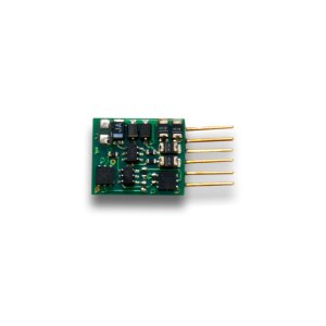 Digitrax DZ126IN 1 Amp Z / N / HO Scale DCC Decoder With 6 Pin NEM 651 Type Plug