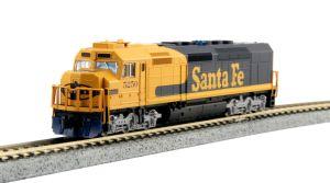 Kato N Scale Santa Fe SDP40F IVa ATSF #5250 76-9211