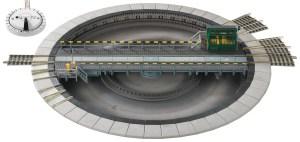 Fleischmann HO Electric Turn Table 6152