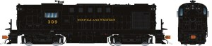 Rapido HO ALCO RS-11 Norfolk & Western #323 As Delivered W/ ESU DCC LokSound 31518