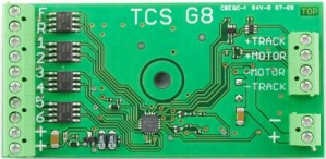 TCS G8 DCC Decoder ~ G-Scale Secoder 8 Functions 1303