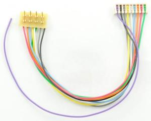 TCS T-3.5″R Harness ~ 8 Pin NMRA To 9 Pin JST Rotated 180 Degrees 1362