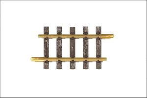 PIKO G Scale 35203 ~ G140 140MM Straight Track 5.5″ With Joiners ~ 1 Piece