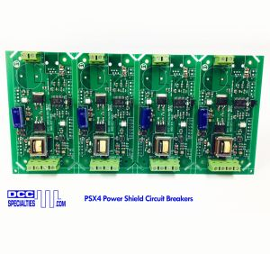 DCC Specialties PSX4 PowerShield PSX-4 Circuit Breakers With Feedback