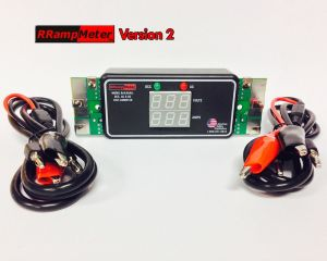 DCC Specialties RRampMeter Version II V2 ~ With Enclosure & Wire Leads & Clips