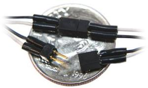 TCS 2-Pin Mini Connector (Purple Wires) 1521