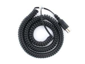 LENZ LY006 ~ XpressNet Digital Plus Throttle Din To RJ12 Spiral Cord